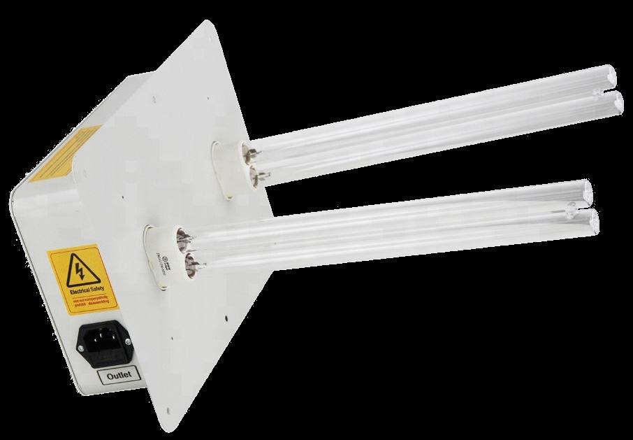 Опромінювачі для вентиляційних установок