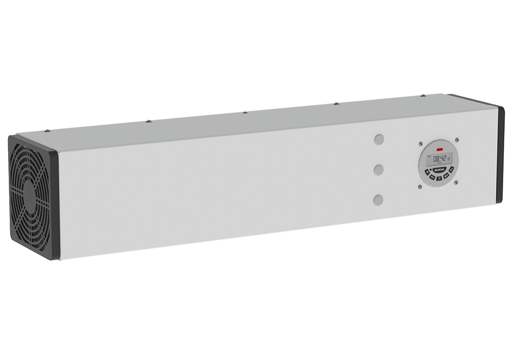 Wall-ceiling recirculators