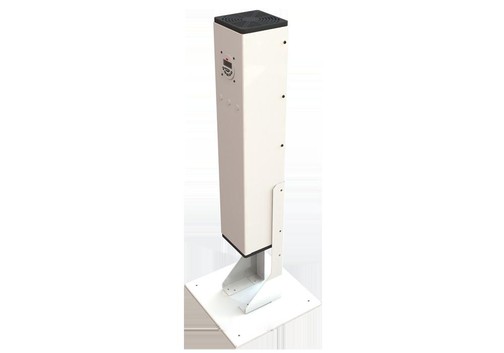 Напольний бактерицидний рециркулятор AntiBact Air (AAV-15-3-S) Turbo